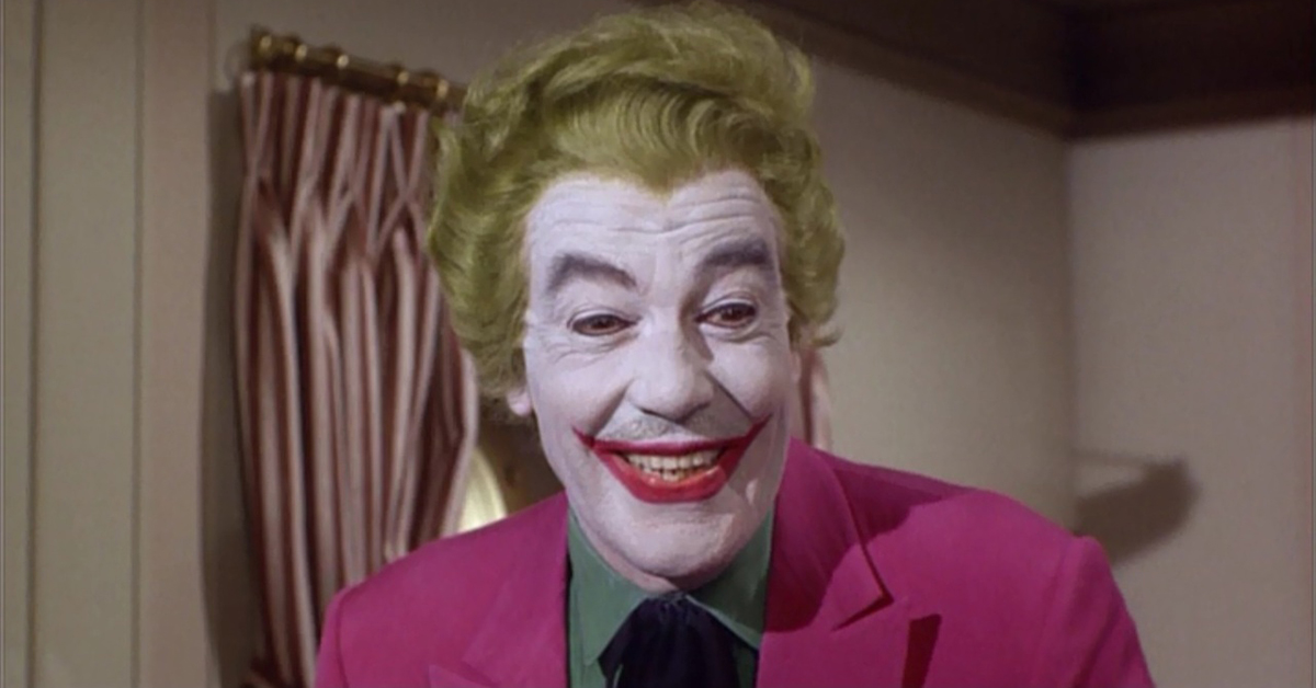 cesar romero's campy joker was incredibly popular